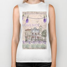 Provence France - my love  - Lavender and Summer on #Society6 Biker Tank
