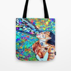 Tribal Shout Tote Bag