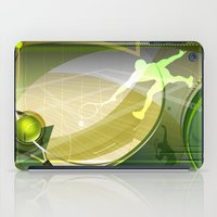 tennis iPad Cases featuring Tennis by Robin Curtiss