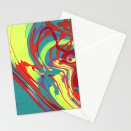 Paint Pouring 48 Stationery Cards