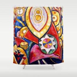 Marsden Hartley Painting 48 Shower Curtain