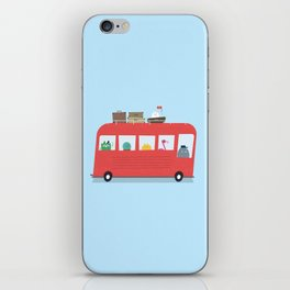 Funny Bus iPhone Skin