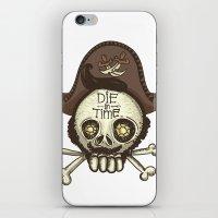 pirate iPhone & iPod Skins featuring pirate by adi katz