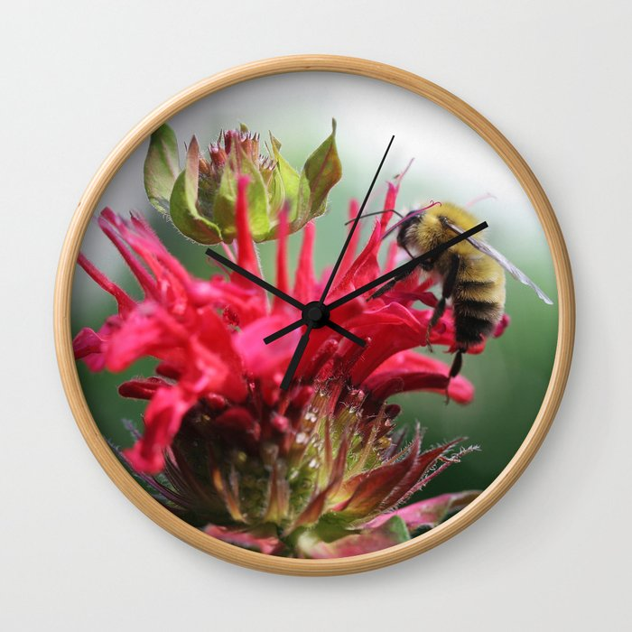 Bee Mine Wall Clock