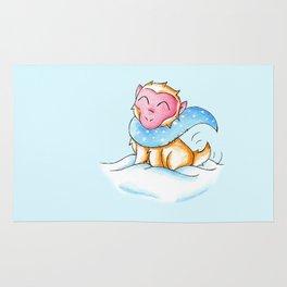 Snowy Monkey Rug