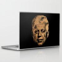 jfk Laptop & iPad Skins featuring Forever Old | JFK by teokon
