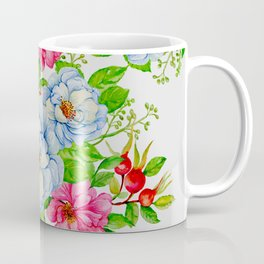 Vintage Floral Pattern No. 7 Coffee Mug