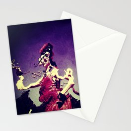 Distorted reality Stationery Cards