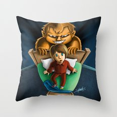 Gobbledocked Throw Pillow