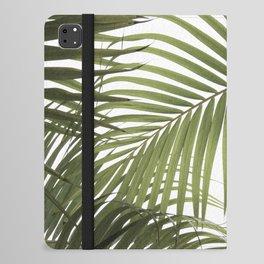 Palm Leaves Photo 01 iPad Folio Case