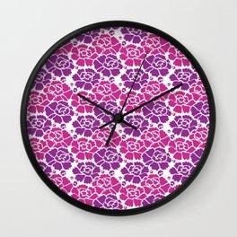 Japanese Pattern Wall Clock