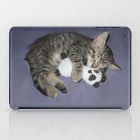 berserk iPad Cases featuring Monroe Kitten by Berserk Cyborg Panda