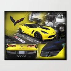 2015 Corvette ZO6 Canvas Print