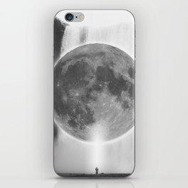 Moon Talks iPhone Skin