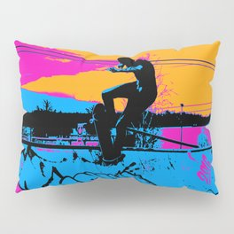 On Edge - Skateboarder Pillow Sham