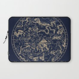 Gold Ceiling | Zodiac Skies Laptop Sleeve
