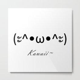 Kawaii Cat Metal Print