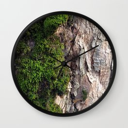 Tree Moos Wall Clock