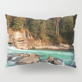 Natural Bridge Falls - Yoho, BC Pillow Sham