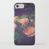 antique iPhone & iPod Cases featuring Antique Rose by A Wandering Soul
