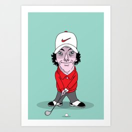 Rory  Art Print
