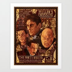 Miller's Crossing Art Print