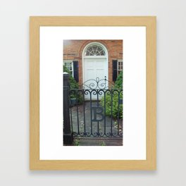 Iron Gate Framed Art Print