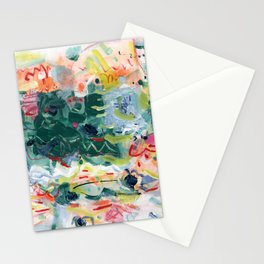 """Jitter"" Mixed Media Stationery Cards"