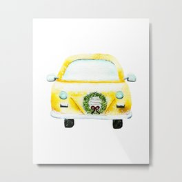 We All Live In A Yellow Cab? Metal Print