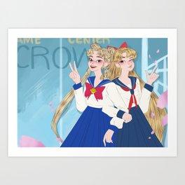 Game Center  Art Print