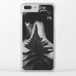 Dark Nature Clear iPhone Case