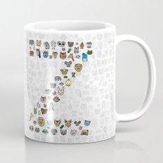 letter Z - zoological animals Mug