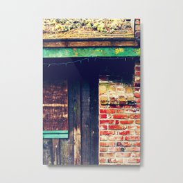 The Holiday Remains Metal Print