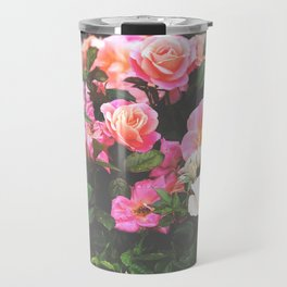 Sorbet Rose Garden Travel Mug