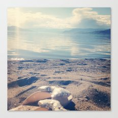 Beach Bows Canvas Print