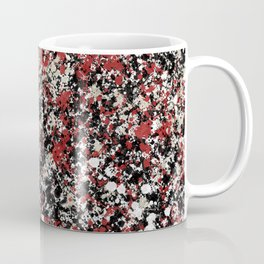 paint drop design - abstract spray paint drops 6 Coffee Mug