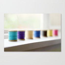 reel colour Canvas Print