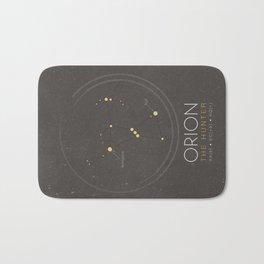 Orion Constellation - The Hunter Bath Mat