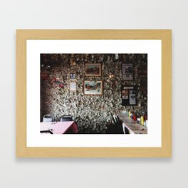 Diner 01 Framed Art Print