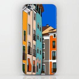 Casas de colores Cuenca. iPhone Skin