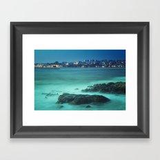 Milky Ocean Framed Art Print