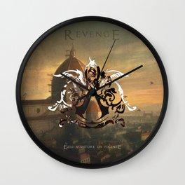 Ezio Auditore Da Firenze - Revenge Wall Clock