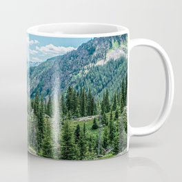 Colorado Wilderness // Why live anywhere else? Amazing Peaceful Scenery with Evergreen Dusted Hills Coffee Mug