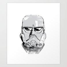 Ralph McQuarrie concept Stormrooper Art Print