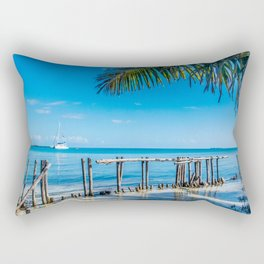 From Under the Palms Rectangular Pillow