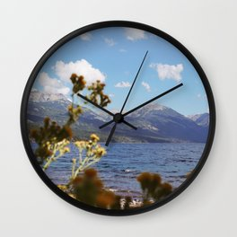 Mountains from Meliquina Wall Clock