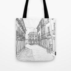 Calle Mayor of Alcalá Tote Bag