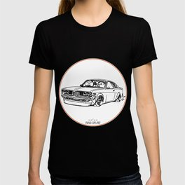Crazy Car Art 0086 T-shirt
