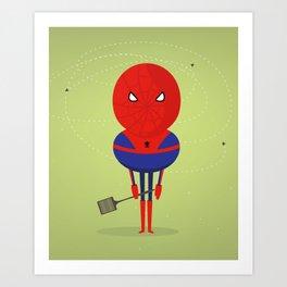 Spider man: My bug hero! Art Print