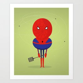 Spider man: My bug hero! Art Print